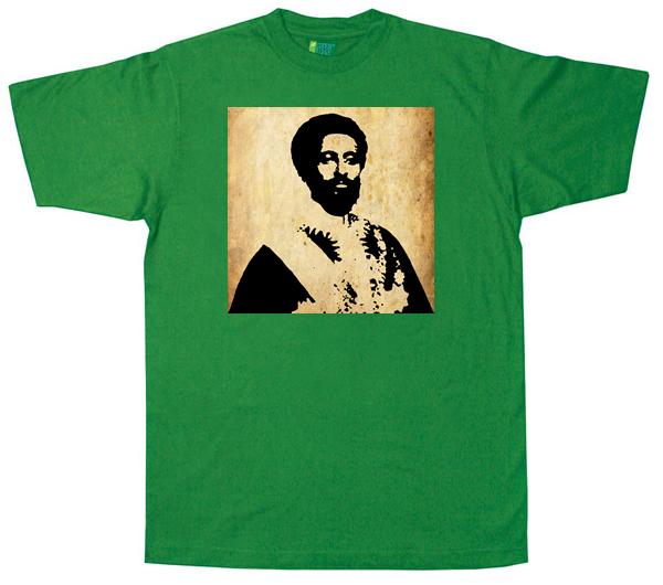 Heile Selasi Dub T Shirt - green
