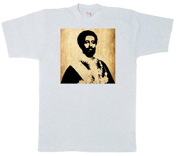 Heile Selasi Dub T Shirt - white