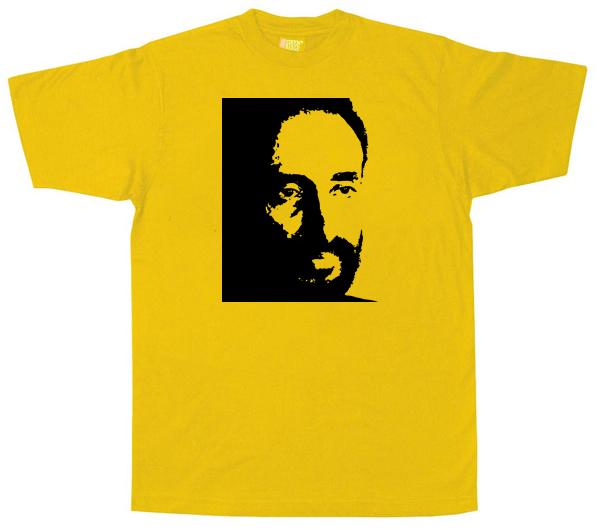 Heile Selasi Dub T Shirt - Yellow
