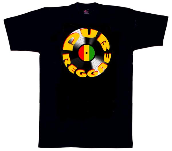 Dub1132 –  Dub Reggae Vinyl T Shirt