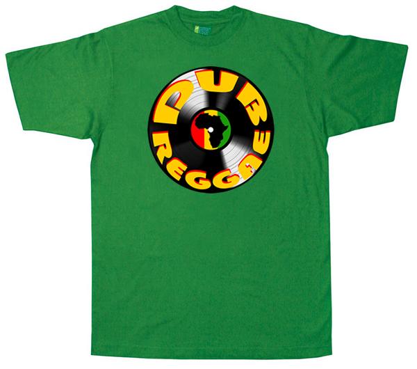 Dub1133 – Dub Reggae Africa Vinyl T Shirt original design