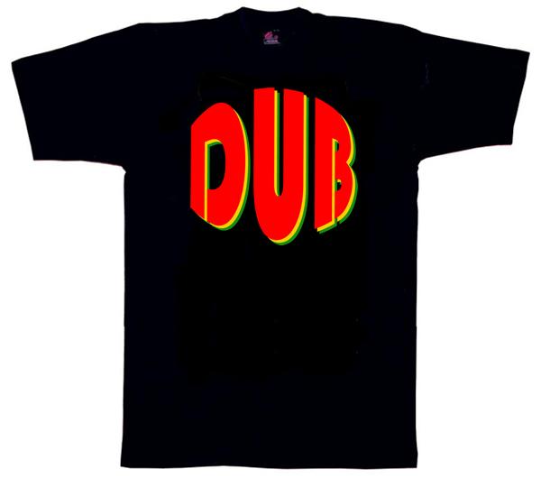 Dub1134 – Retro Font Dub T shirt