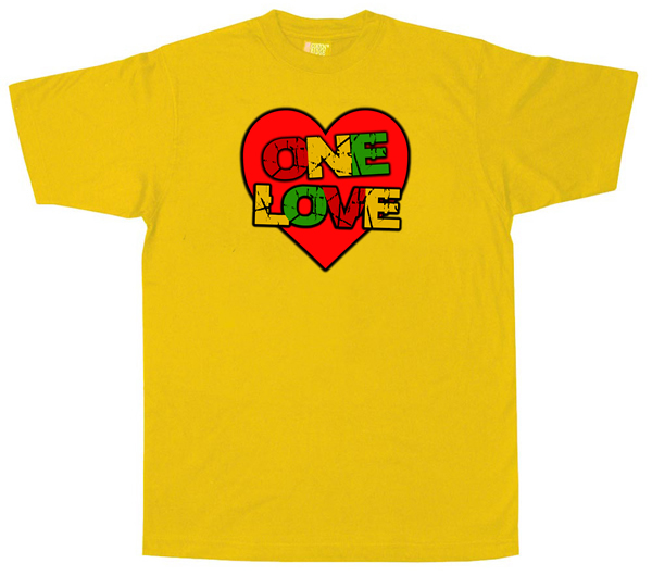 Dub1155 one love t shirt dubshop original dub ska for Original t shirt designs