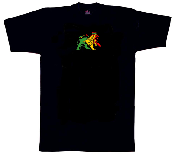 Lion of Judah Dub T Shirt