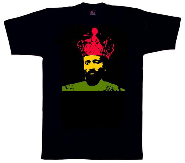 Dub Haile Selassie T Shirt